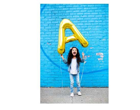 """Letter Foil Balloons 34"""""""